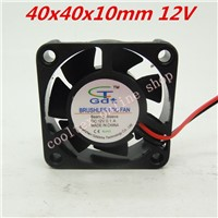 3pcs/lot  40x40x10mm  4010 fans  12 Volt  Brushless DC Fans for heatsink cooler cooling  radiator  Free Shipping