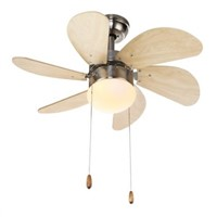Modern and simple ceiling fan light (yellow)