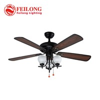 Decorative Ceiling Fan 5203 With Light Kit Pull Chain Control Ceiling Fan Light