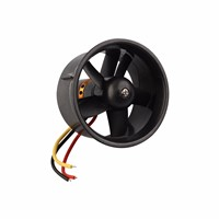 Weyland QX-Motor 64mm EDF 5 Blades Ducted Fan + QF2611 4500KV Brushless Motor for RC Airplanes