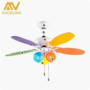 Stylish European Antique Ceiling Fan 110v/220v With Light Restaurant Living Room Lamp 48 inch Stainless Steel With Blades Fan