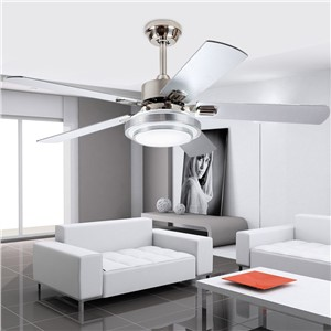 Modern LED adjustable light ceiling fan light iron fashion simple ceiling lamp 42 Inch  107 cm ceiling fan.