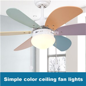 New KF-A0601 Household Fan Chandelier Ceiling lights Restaurant Fan Lights Children Room Modern Simple LED Fan Lights 220v 55W