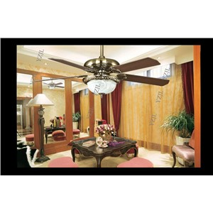 European fans ceiling retro fan light 52inch fashion luxury dining room living room modern decorative fan ceiling lights