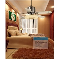 Modern living room bedroom ceiling fan light remote control mute fan light restaurant ceiling fan lights Fan frequency converter