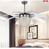 Fan light LED ceiling fan take off fan leaf dining room living room chandelier 8 leaves Ceiling FansZH