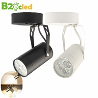 3W LED ceiling light energy saving non track bar LED track lamp for retail shop lighting Easy installation 2835 spot light lamps