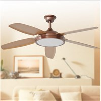 Ceiling Fan With Lights Remote Control  110-240Volt Fan LED Light Bulbs Bedroom Fan Lamp Free Shipping