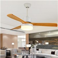 LED Ceiling Fan With Lights Remote Control 110-220Volt Fan LED Light Bulbs Bedroom Fan Lamp Free Shipping