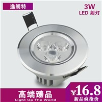 Led spotlight ceiling 3w ceiling light 3 tile full set of wall lights cattle lamp