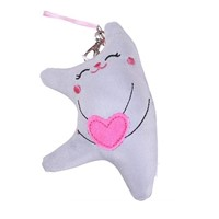 Reflective hang bag Reflective protective accessories creative gift doll toys for children Safety warning item