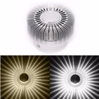 3W LED Aluminum Ceiling Light Fixture White Spot Lighit Indoor Lighting