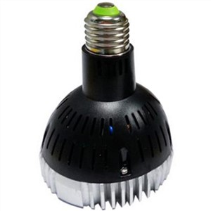 lampholy E27 PAR30 30W LED Light Black
