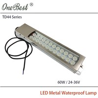 HNTD 60W 24-36V TD44 Led Metal Panel Light CNC Machine Tool Waterproof Explosion-proof Led Spotlight Led Work Lamp Free shipping