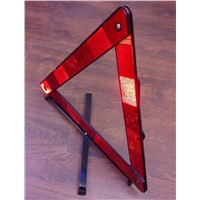 Foldable Car Reflective Triangle Warning Sign