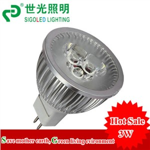 FREE SHIPPING,High quality- 3*1W -LED spot light MR16 /GU10/E27,ALU.EPISTAR CHIP 100-110lm/W