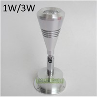1W/3W Epistar Led Display Cabinet Mini Spotlight For Jewelry Store