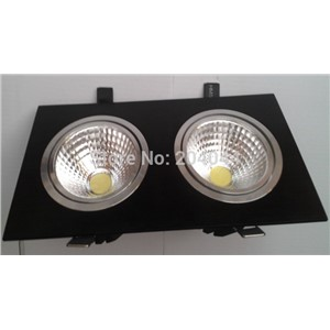 2015 free Shipping 2pcs Lot New Style 2 10 W 15 140 270 Mm Cob Led Light with 100lm High Brightness 3 Years Waranty Time
