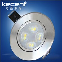 Hot Sale 3Colors 4W LED Downlight Recessed LED Lamp Spot Light AC85-265V