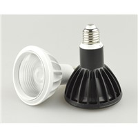 85-275Vac Cree 7W Par20 led spot light ,outdoor COB spot lamp ,E27 par light ,showcase spot light