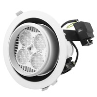 35W LED Light Spot Round Lamp White Recessed Ceiling Down spotlight Bulbs Warm White
