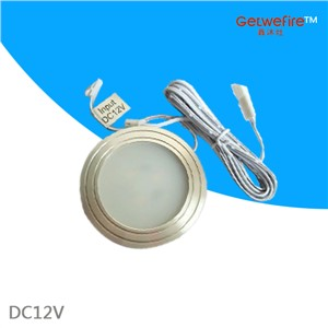 NEW DC 12v 10pcs/lots 1.5W with 3pcs 5630 type leds,LED Puck/Cabinet Light,LED spotlight Free shipping