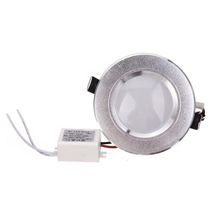 Led Panel downlight lamp Ultra Thin 3w Round ceiling recessed downlights round led panel light+Driver free shipping