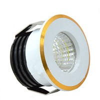 3W Mini Cob Led Ceiling Spot Light H27*D37mm AC85-265V Recessed Mounted Ceiling