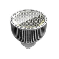 Fins shell LENS COVER E40 PAR64 60w 60*1w led par light/led par64 lamp bulb,led spotlights