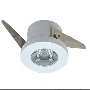 1W Led Ceiling Dispaly Cabinet Closet Showcase Spot Light Small Size 32*20mm