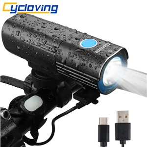 Cycloving Bike light Bicycle light headlight 6modes remote switch 4500mah mobile Power bank IPX6 waterproof bike accessores