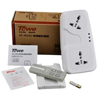 TOWE AP-WS102 wireless remote control power 220V smart home two ways socket 10A