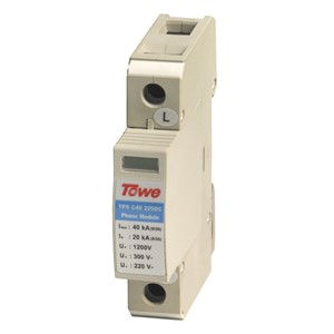 TOWE AP- C40 220DC 220 V Chase flow low-voltage DC power protection Imax:40KA,In:20KA,Up:1200v  surge protective device