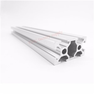 HOT Sale CNC 3D Printer Parts European Standard Anodized Linear Rail Aluminum Profile Extrusion 2040 for DIY 3D printer