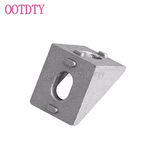 10Pcs Aluminum Brace Corner Joint Right Angle Bracket Joint L Shape 20x20mm New #S018Y# High Quality
