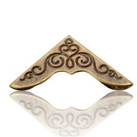 Shirt collar angle, book corner, 23mm bronze color, 100pcs/lot, DIY collar/ book angle/photo frame accessories