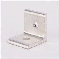 2020 3030 4040 4545 Aluminum Extrusion Profile Aluminum Alloy 2 Hole 90 degreee Inside Corner Bracket