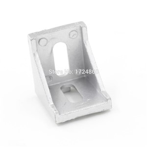 40*40*40 Aluminum Profile Corner Fitting Angle Code Decorative Brackets Aluminum Profile Accessories L Connector