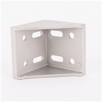 CNC DIY 8080 Corner Fitting 80x80 Home Decorative Angle Brackets Aluminum Profile Accessories connector
