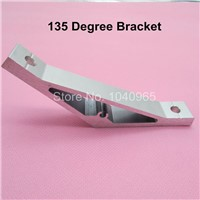 135 degree Inside Corner Bracket Connector Angle with 2 Hole for 2020 Aluminum Profile Extrusion