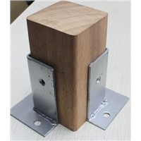 4Pcs/Lot Outdoor Anticorrosive Wood Post Pillar Bracket Brackets Plate Flooring Bottom Mount