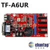 TF-A6UR USB + serial port LED Controller Single, Dual Color led billboard display module control card for text moving led sign