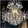 Jmxiuz Luxury Crystal Chandelier Living Room Lamp lustres de cristal indoor Lights Crystal Pendants For Chandeliers Free shiping