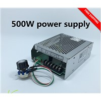 220v  power supply with speed governor for 500w dc 0-110v cnc air cooled spindle motor