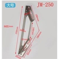 1Pair 180mm JM-250 Stainless steel corner bracket, Fixing bracket, bulkhead, fittings Connectors, Furniture Hardware