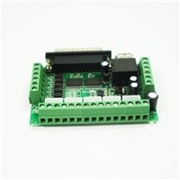 MACH3 cnc router interface board 5 axis stepper motor driver cnc interface board with optocoupler isolation