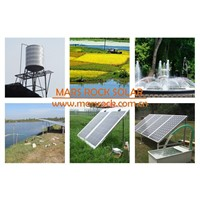 5500W AC380V DC530V brushless well solar water pump with  permanent magnet synchronous motor flow 40T/H head 30m for irrigation