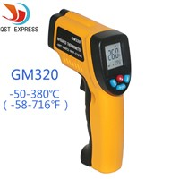 LCD Display Digital Infrared Thermometer Professional Non-contact Temperature Tester IR Temperature Laser Gun GM320