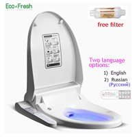 EcoFresh Smart toilet seat Washlet Electric Bidet cover intelligent bidet heat clean dry Massage care for child woman elder