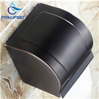 Hot Sale Wholesale And Retail Promotion Luxury Oil Rubbed Bronze Bathroom Toilet Paper Holder Tissue Box Wall Mounted